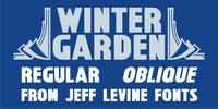 Winter Garden JNL Font Download