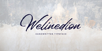 Welinedion Font Download