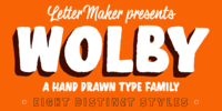Wolby Font Download