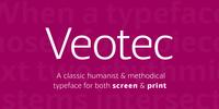 Veotec Font Download