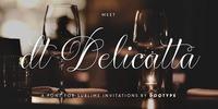 dT Delicatta Font Download
