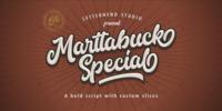Marttabuck Font Download