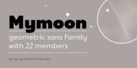 Mymoon™ Font Download