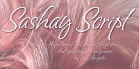 Sashay Script Font Download