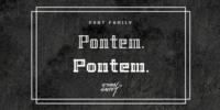 Pontem Font Download