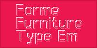 Furniture Type Font Download