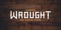 Wrought Font Download