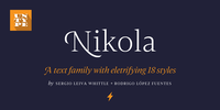 Nikola Font Download