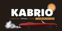 Kabrio Font Download