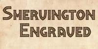 Shervington Engraved Font Download