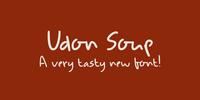 Udon Soup Font Download