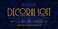 Decoral Soft Font Download