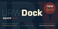 URW Dock™ Font Download