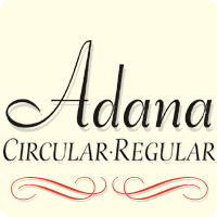 Adana Fonts by astype