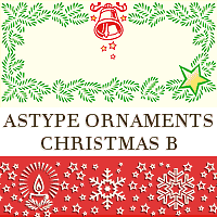 Astype Ornaments Christmas B by astype