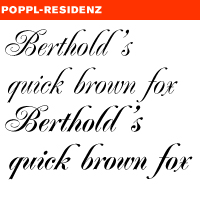 FREE POPPL FONT DOWNLOAD RESIDENZ
