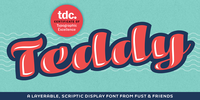 Teddy Font Download