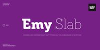 Emy Slab Font Download