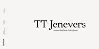 TT Jenevers Font Download