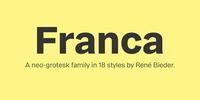 Franca Font Download