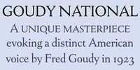 Goudy National Font Download