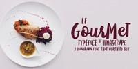 Le Gourmet Font Download
