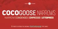 Cocogoose Narrows Font Download
