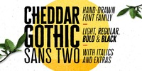 Cheddar Gothic Sans Two Font Download