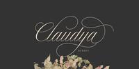 Claudya Script Font Download
