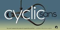 Cyclic Sans™ Font Download