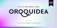 Orqquidea Font Download