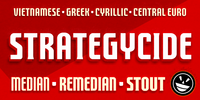 FTY Strategycide™ Font Download
