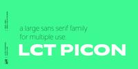 LCT Picon Font Download