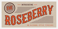 The Roseberry Font Download