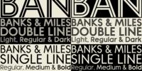 Banks & Miles Font Download