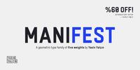 Manifest Font Download