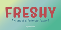 Freshy™ Font Download