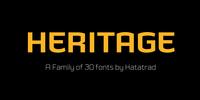 Heritage Set™ Font Download