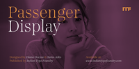 Passenger Display Font Download