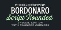 Bordonaro Script Rounded Font Download