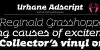 Urbane Adscript Font Download