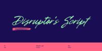 Disruptor's Script Font Download