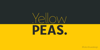 Yellow Peas Font Download