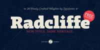 Radcliffe Font Download