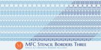 MFC Stencil Borders Three™ Font Download