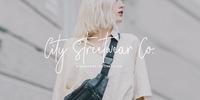City Streetwear Font Download