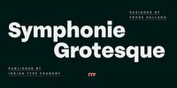 Symphonie Grotesque Font Download