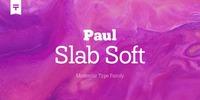 Paul Slab Soft Font Download