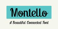 Montello Font Download