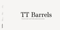 TT Barrels Font Download